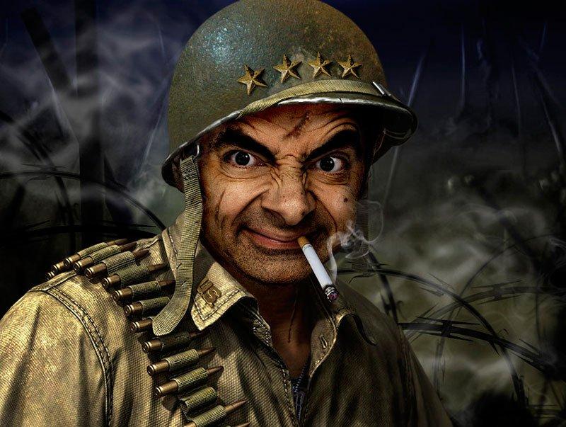 Смешной воин картинка, спасибо открытках