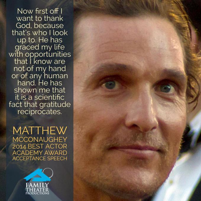 Happy Nov. 4 birthday to film star Matthew McConaughey ...
