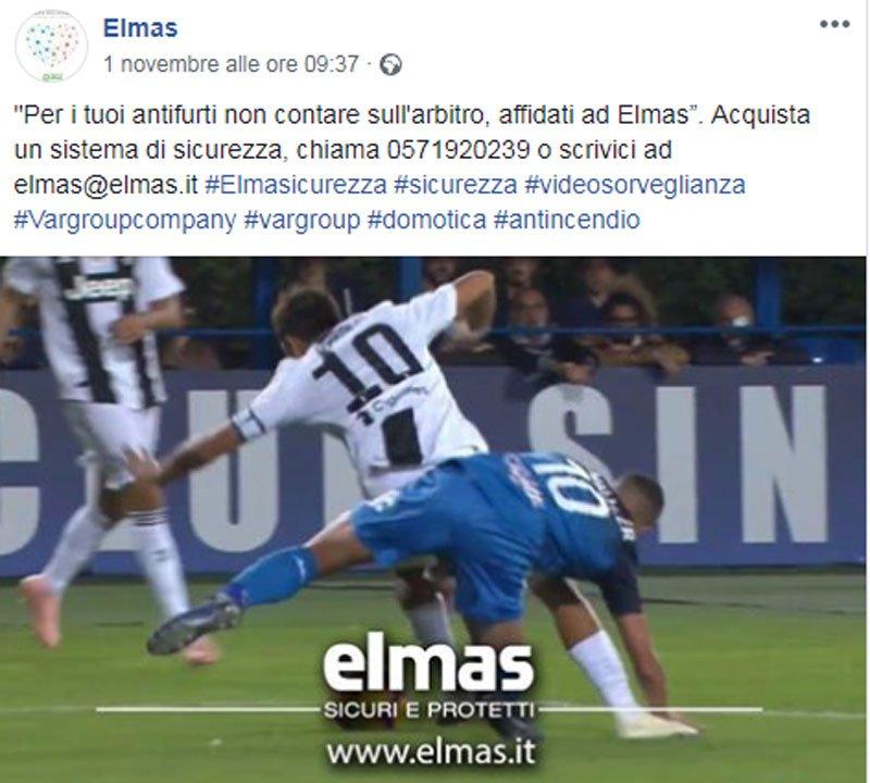 Tifo, marketing e ironia: così il rigore per la #Juve diventa uno spot a #Empoli https://t.co/fGYiIJdSfV