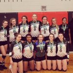 Image for the Tweet beginning: Silver for #FCVC 16U Girls