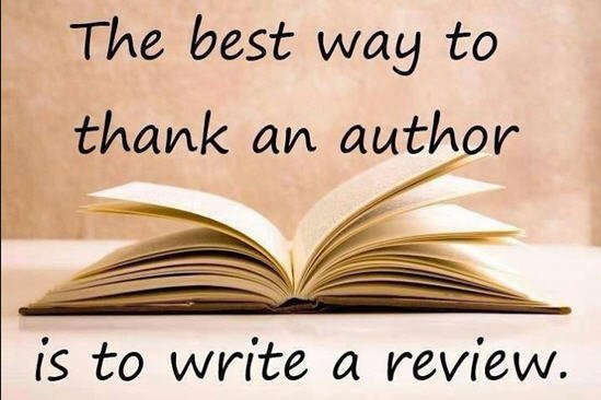 Image result for support writers leave a book review