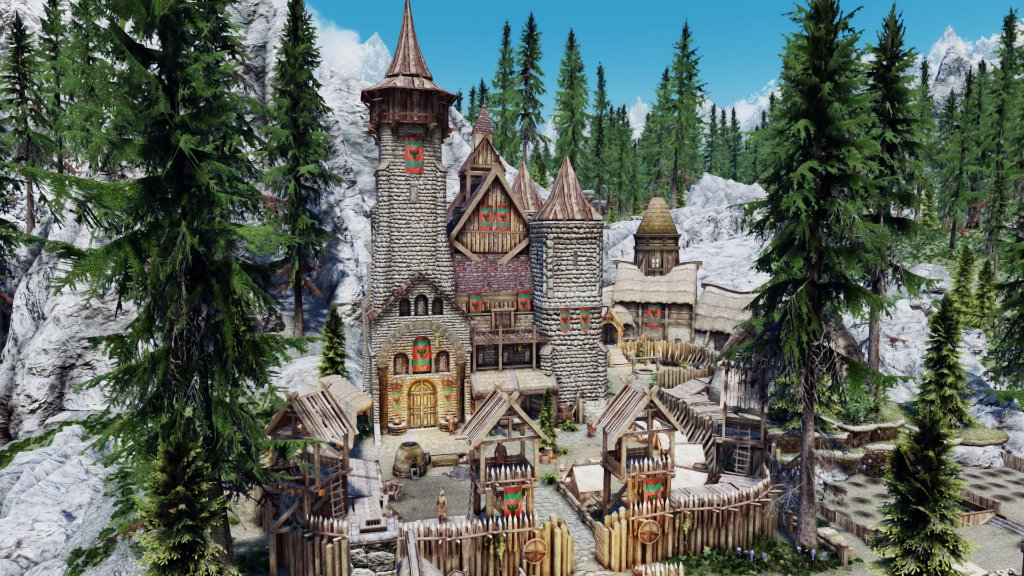 Astonishing Build Your Noble House For Skyrim Will Give You The Chance Download Free Architecture Designs Rallybritishbridgeorg