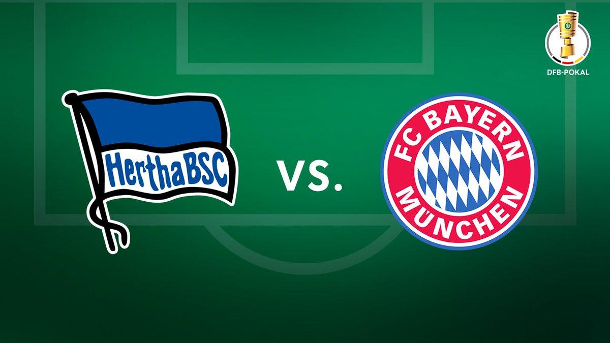 The Dfb Pokal On Twitter Last 16 Draw Tie 5 Herthabsc En