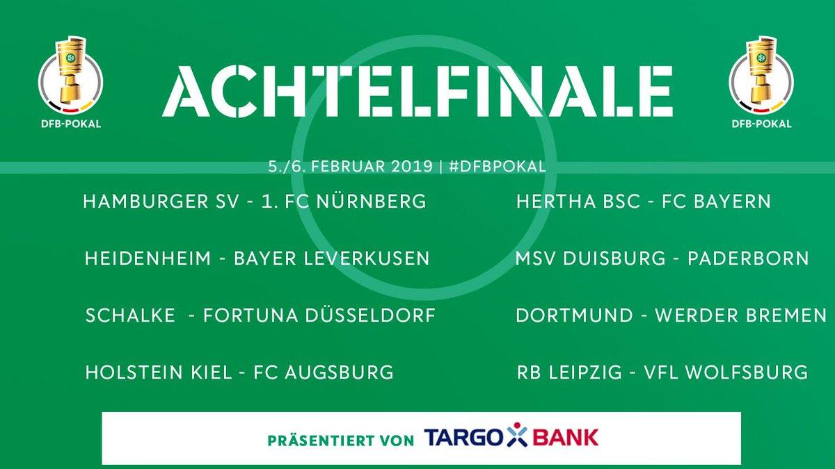 Coupe d'Allemagne : un choc Dortmund-Werder en 8es