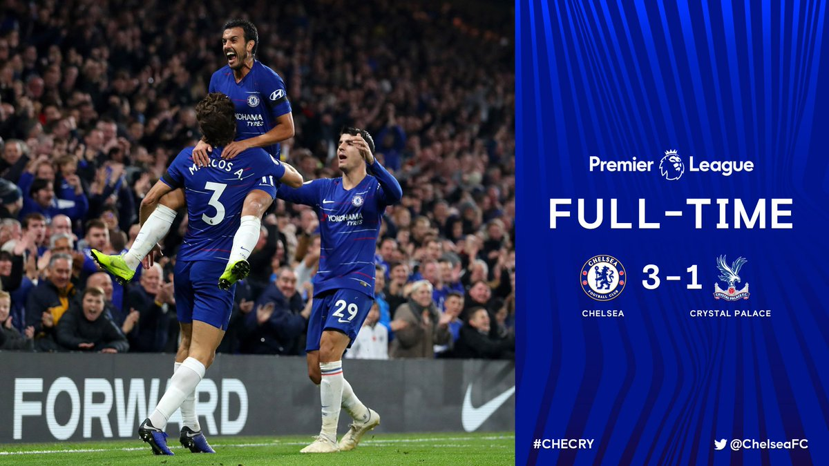 Chấm điểm kết quả Chelsea 3-1 Crystal Palace