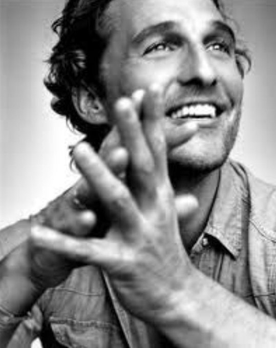 Happy birthday to Mr Matthew McConaughey