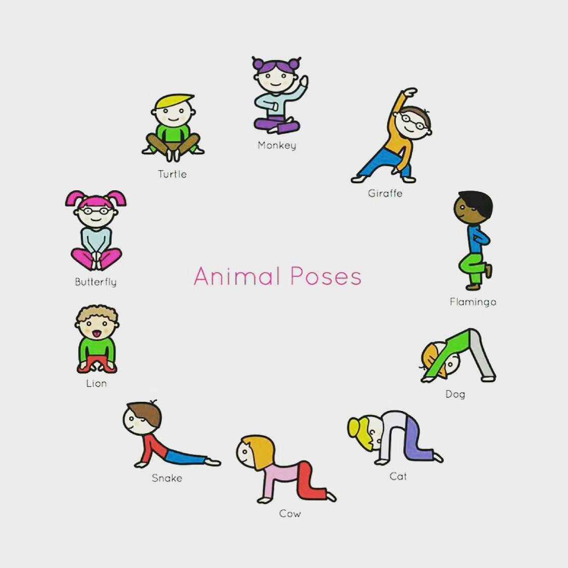 Kids love to practice Animal Poses and we love teaching them. Kids Yoga is more than physical activity, it is an opportunity for children to be creative while connecting to the beautiful creatures they embody #upwardkidsyoga #onwardandupward #kidsyoga #animalposes pic.twitter.com/zGNp0aEu4a