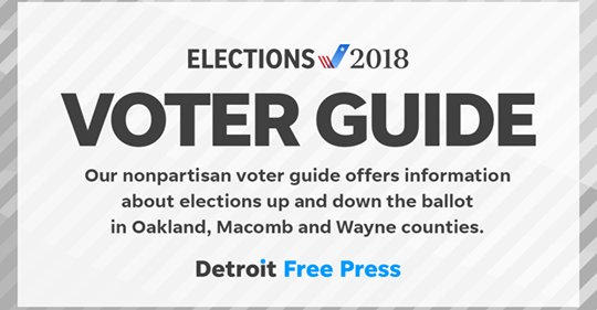 Detroit free press editorial board endorsements for michigan elections.
