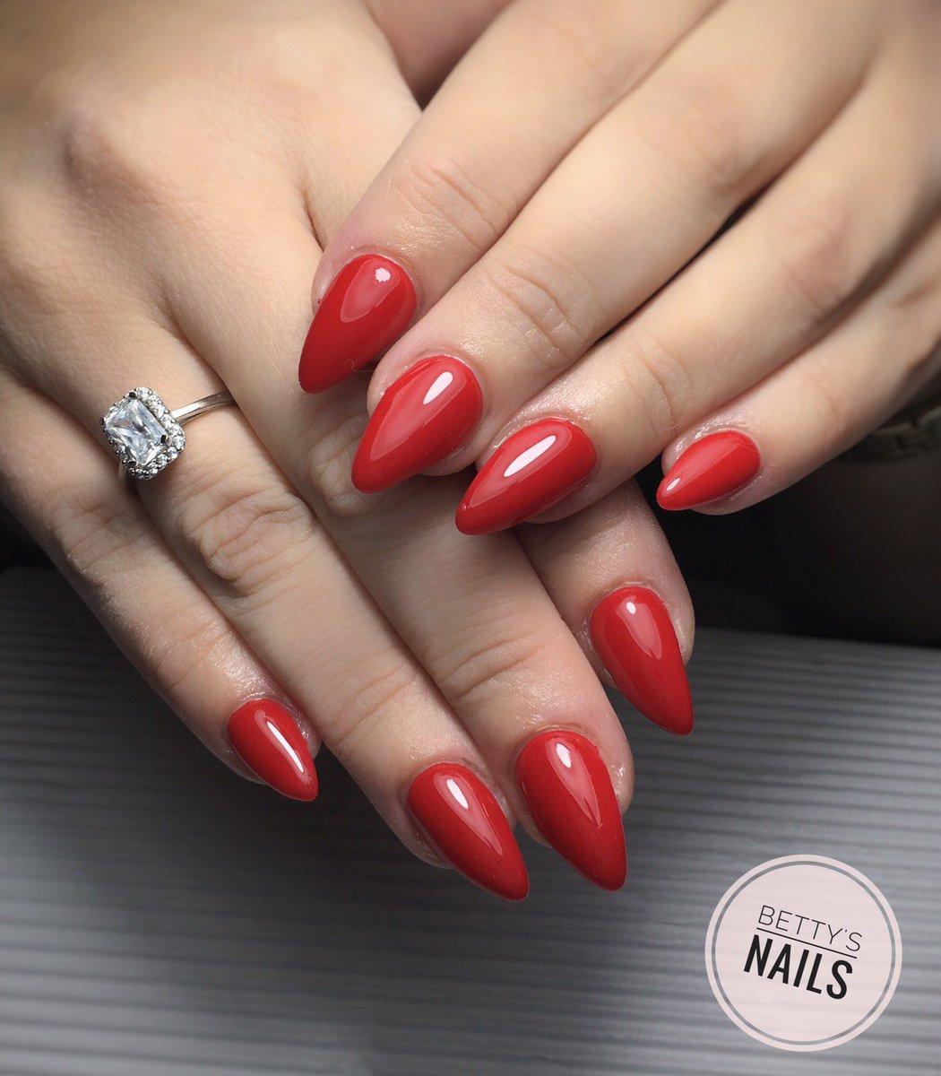 Nail Designs By Betty On Twitter Ferrari Red Nails Ferrari Fallnails Nailedit Nailart