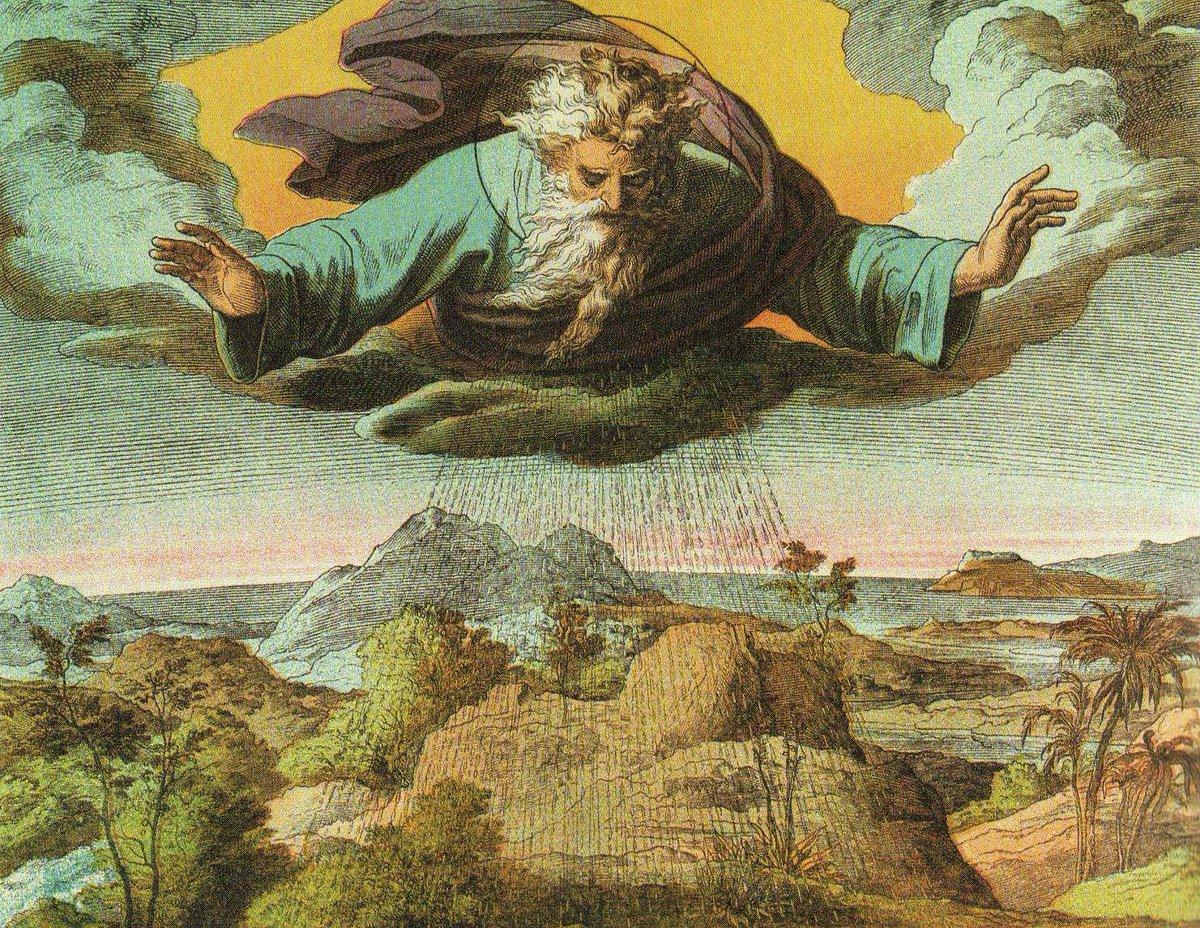 Библия в картинках сотворение мира