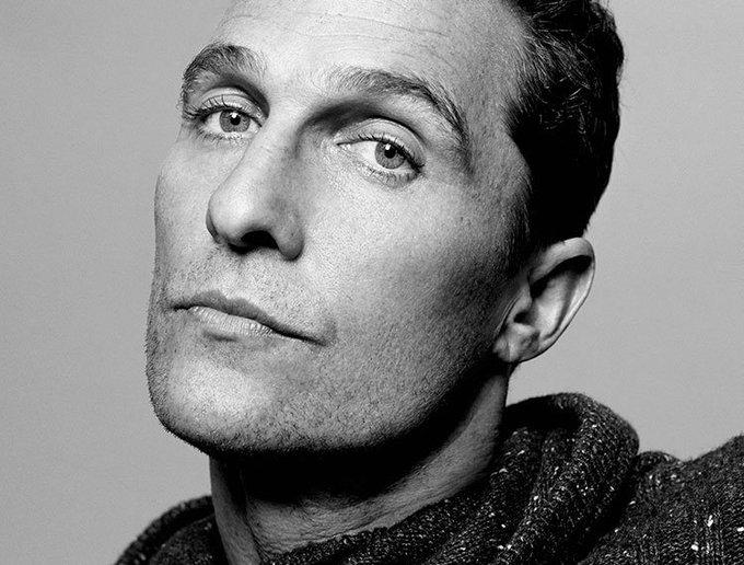 Happy birthday, Matthew McConaughey.