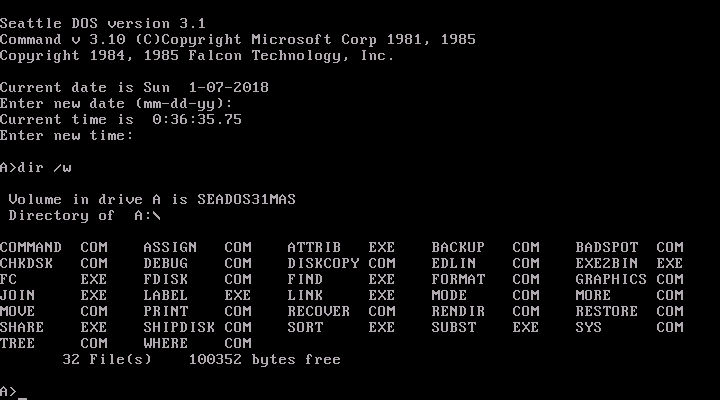 Find Ms Dos Computers Deals — ZwiftItaly