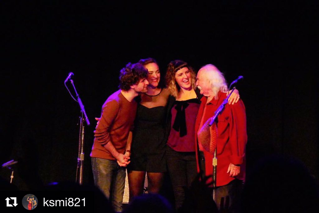 Love this capture of us after our first show! Seattle - thank you for being a superb audience. We loved debuting these new songs w. you! Portland tonight at the @aladdintheater. #lighthousetour #davidcrosby #beccastevens #michaelleague #michellewillis #hiyl #hereifyoulisten <br>http://pic.twitter.com/c6wuFpTBOv