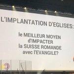 Après la journée One' 2018 à Fribourg, mes quelques observations surtout sur la dynamique d'implantation d'églises - Suisse : quand les évangéliques se demandent comment évangéliser aujourd'hui https://t.co/yTfpiKmdym