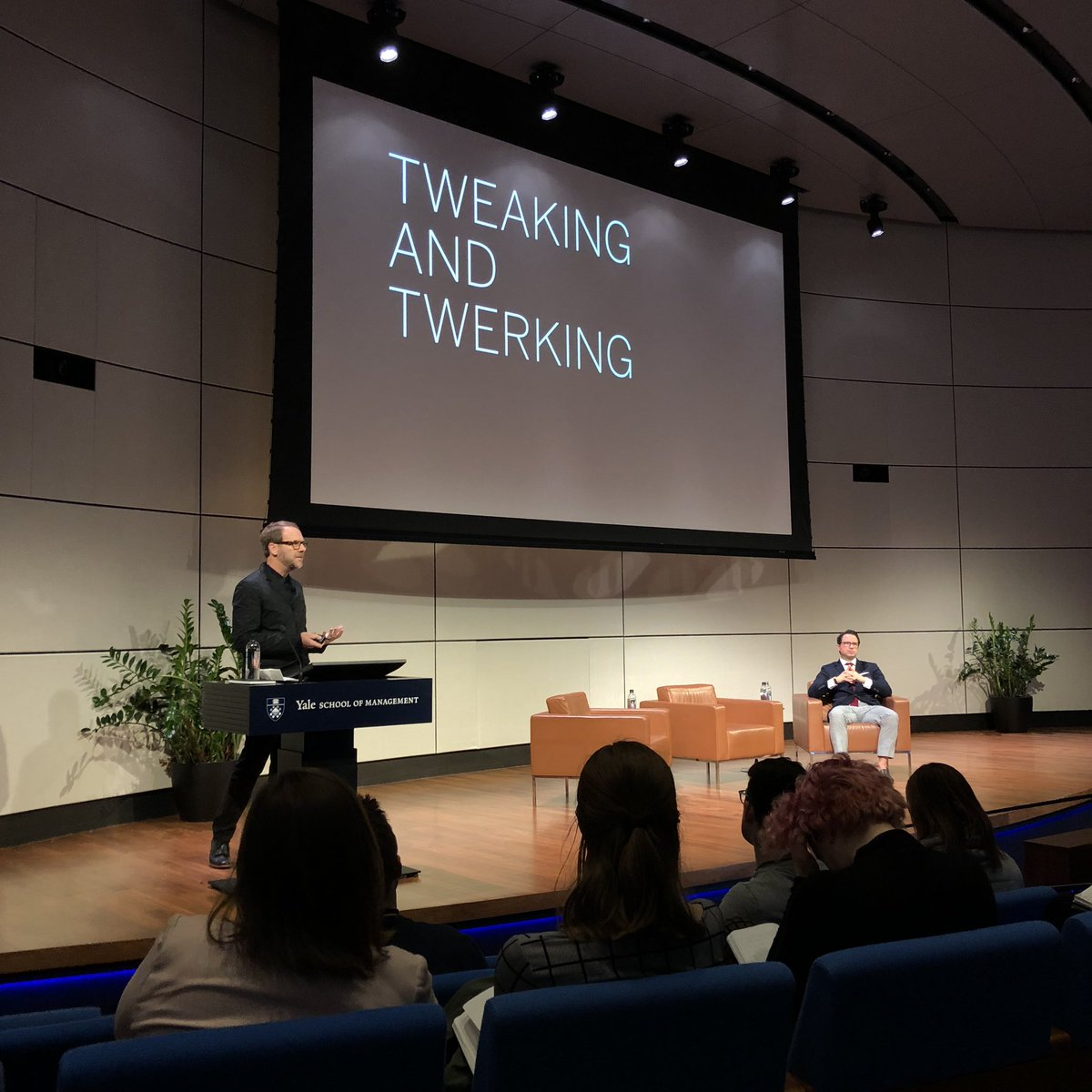 Watching @abbottmiller of @pentagram talk about tweaking and twerking with @claytonIII of @AmericanExpress was a highlight of the @DesignObserver conference for me. The biggest ideas can often require focusing on the smallest of details.