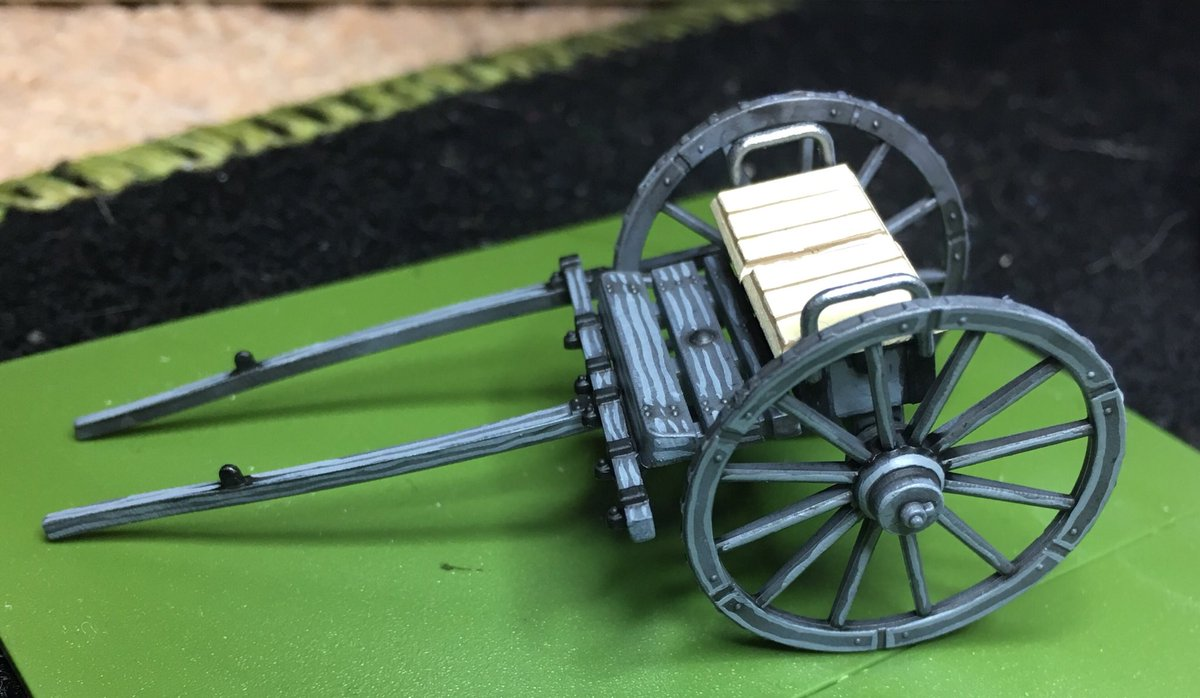 WIP British Artillery Limber from the @AtVictrix kit for