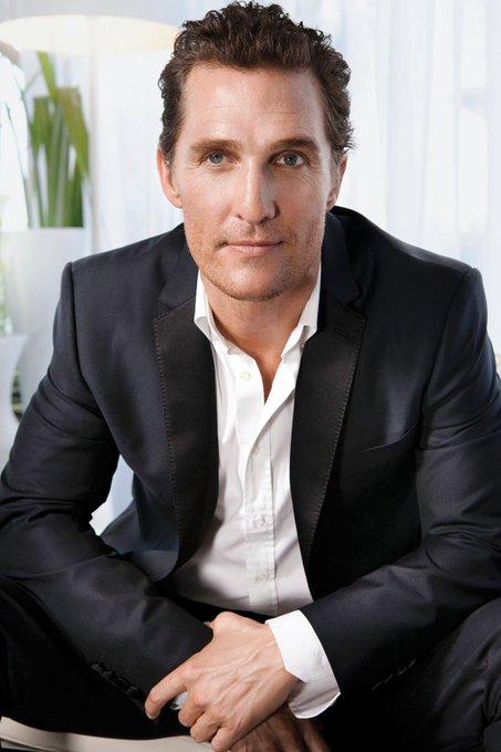 Happy Birthday Matthew McConaughey!