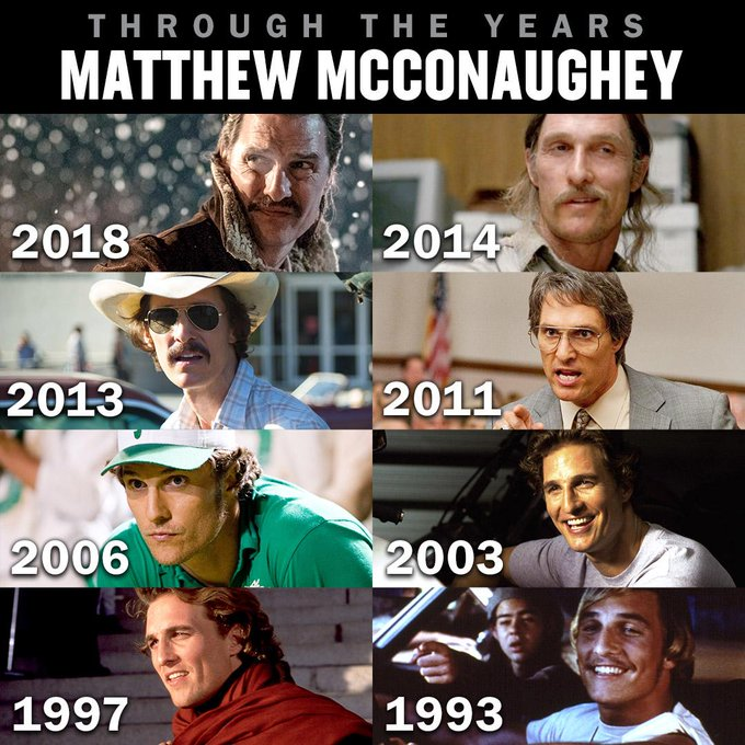 Happy birthday Matthew McConaughey! Which of his films is your favorite?