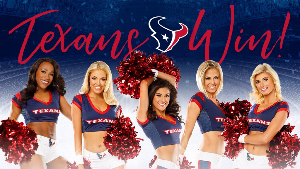 Way to go @HoustonTexans‼️ Six in a row‼️ Love this team! 💕 #Texans