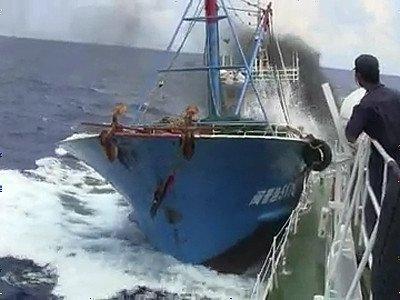 尖閣諸島中国漁船衝突映像流出事...