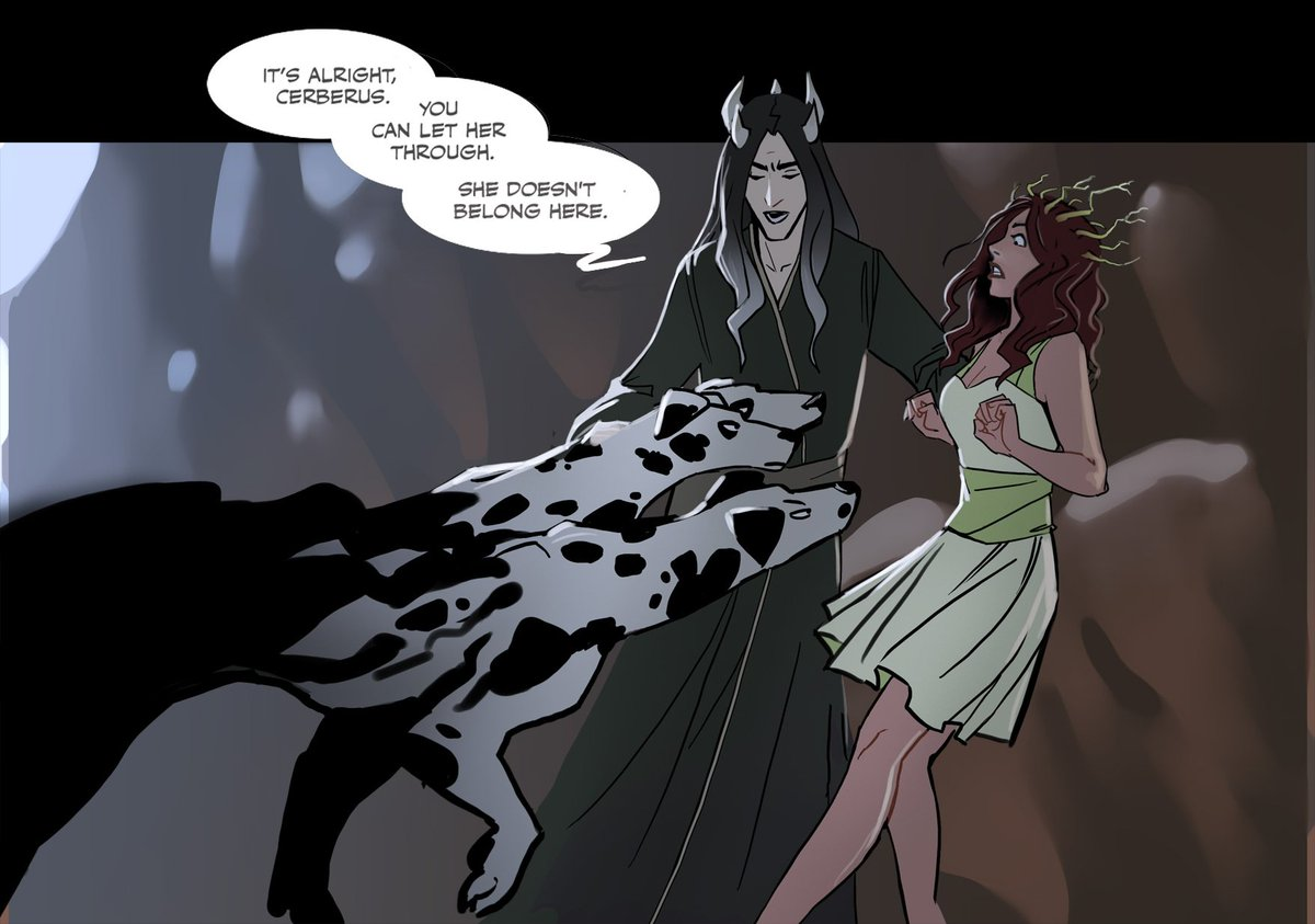 Linda Sejic Sigeel On Twitter More Hades Persephone