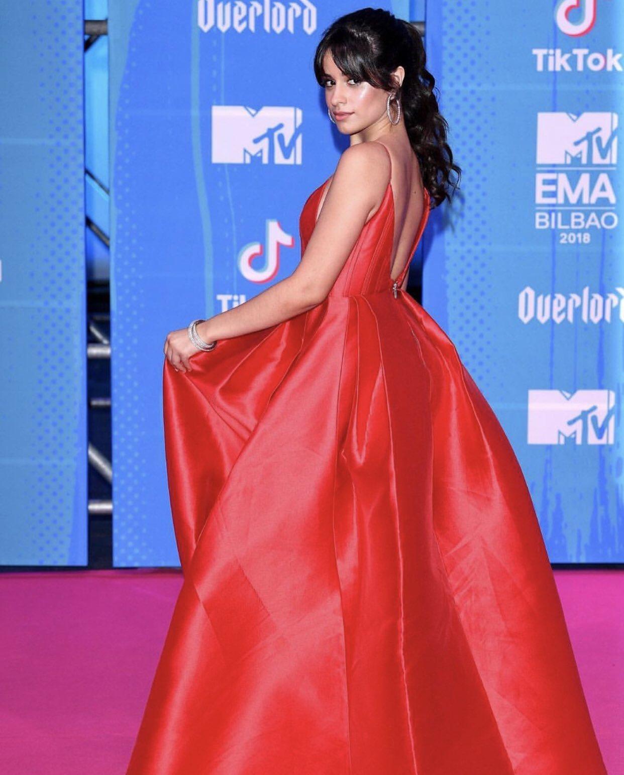 Congratulations @Camila_Cabello on winning FOUR @mtvema awards!! ���� https://t.co/XzH0HmdEg5