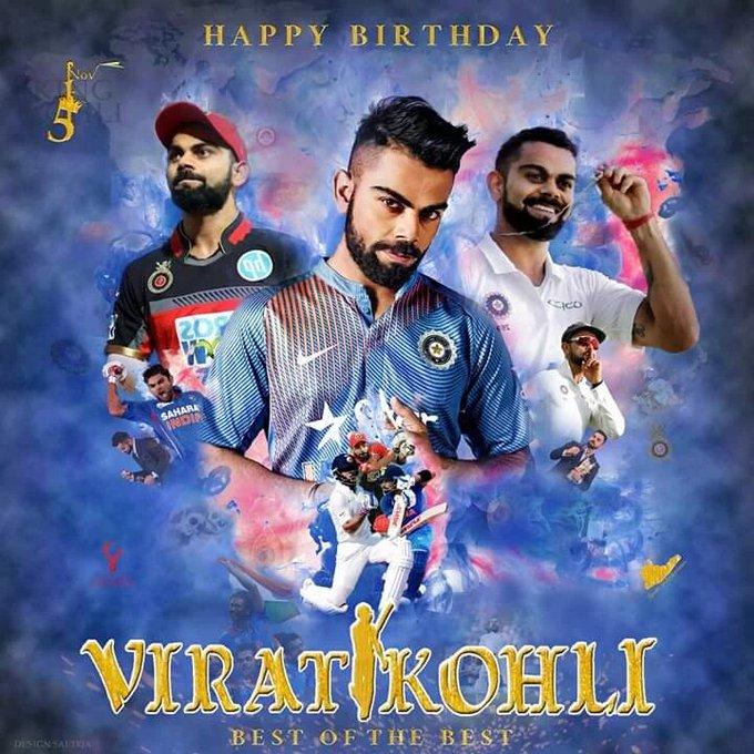 KING KOHLI TURNS 30! Happy Birthday to the \Ton Machine\ Virat Kohli