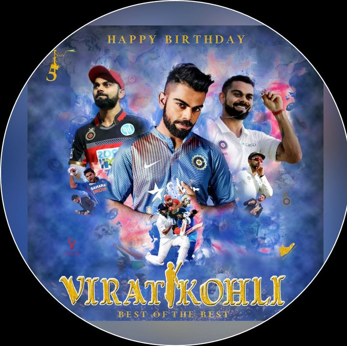 Happy birthday virat kohli   the running machine