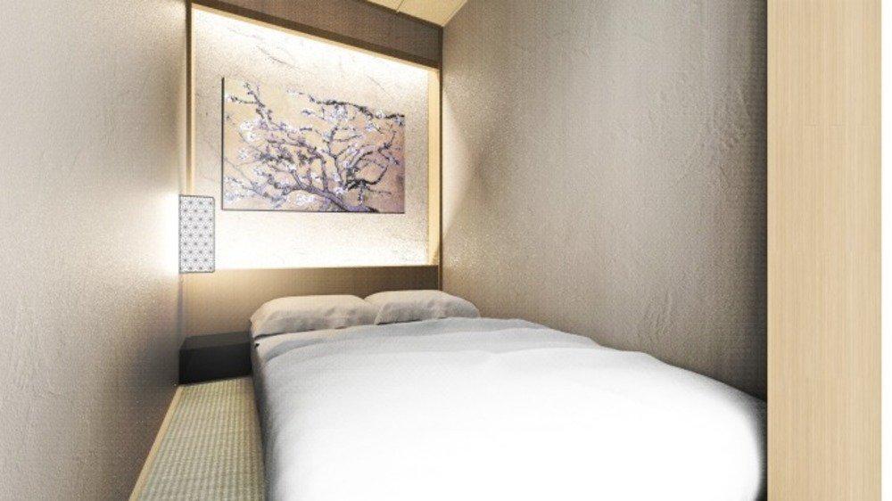 えっ⁈ホントにカプセル⁉︎和をテーマにした日本橋のホテルがカッコイイ!