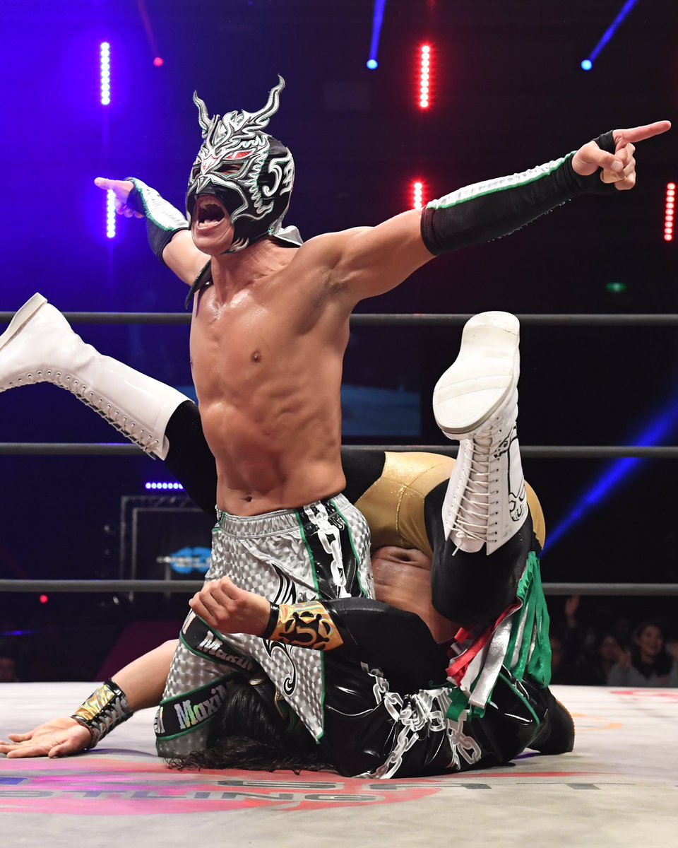 "Dragon Gate:""The Gate of Destiny 2018"" 3 mexicanos en acción 4"