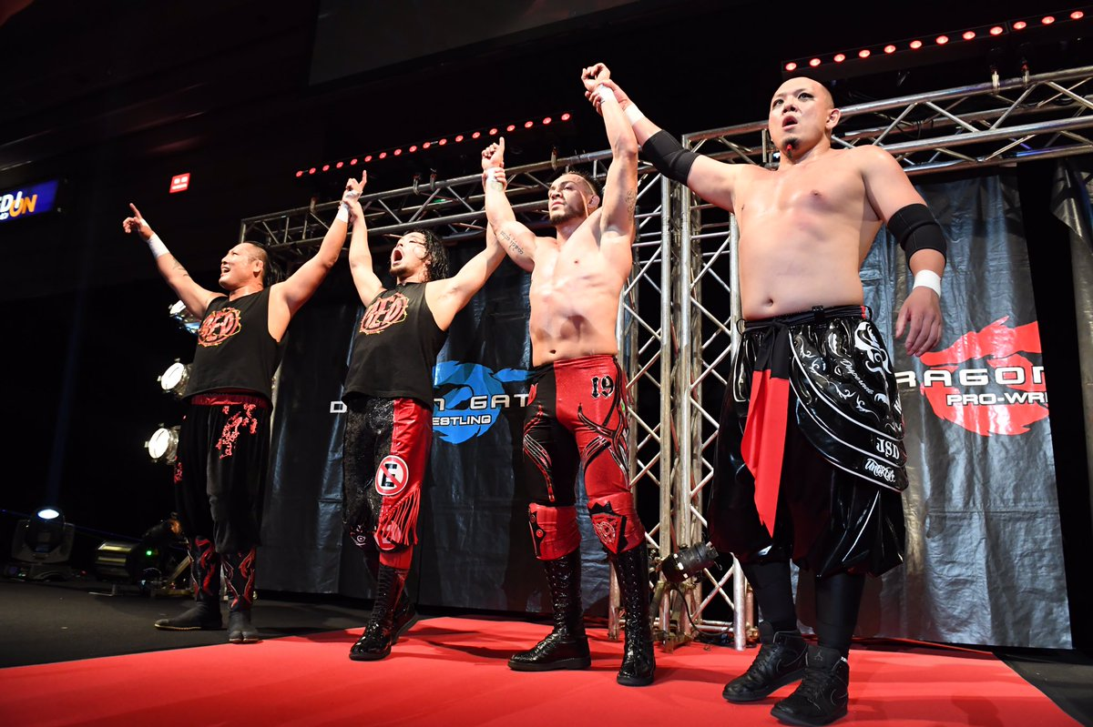 "Dragon Gate:""The Gate of Destiny 2018"" 3 mexicanos en acción 2"