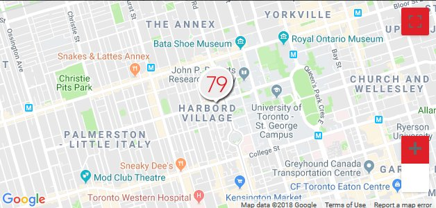 Studio79 is located at 79 Harbord Street near the intersection of Spadina Avenue and Harbord Street. Contact us or book a session with one of our certified instructions today - http://studio79.ca/contact  #Toronto #HarbordVillage #Spadina #Harbord #Fit #Fitness
