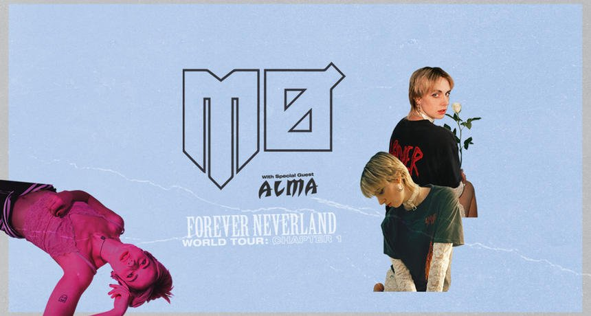 Forever Neverland Tour starts in 4 days! @MOMOMOYOUTH + @almacyber