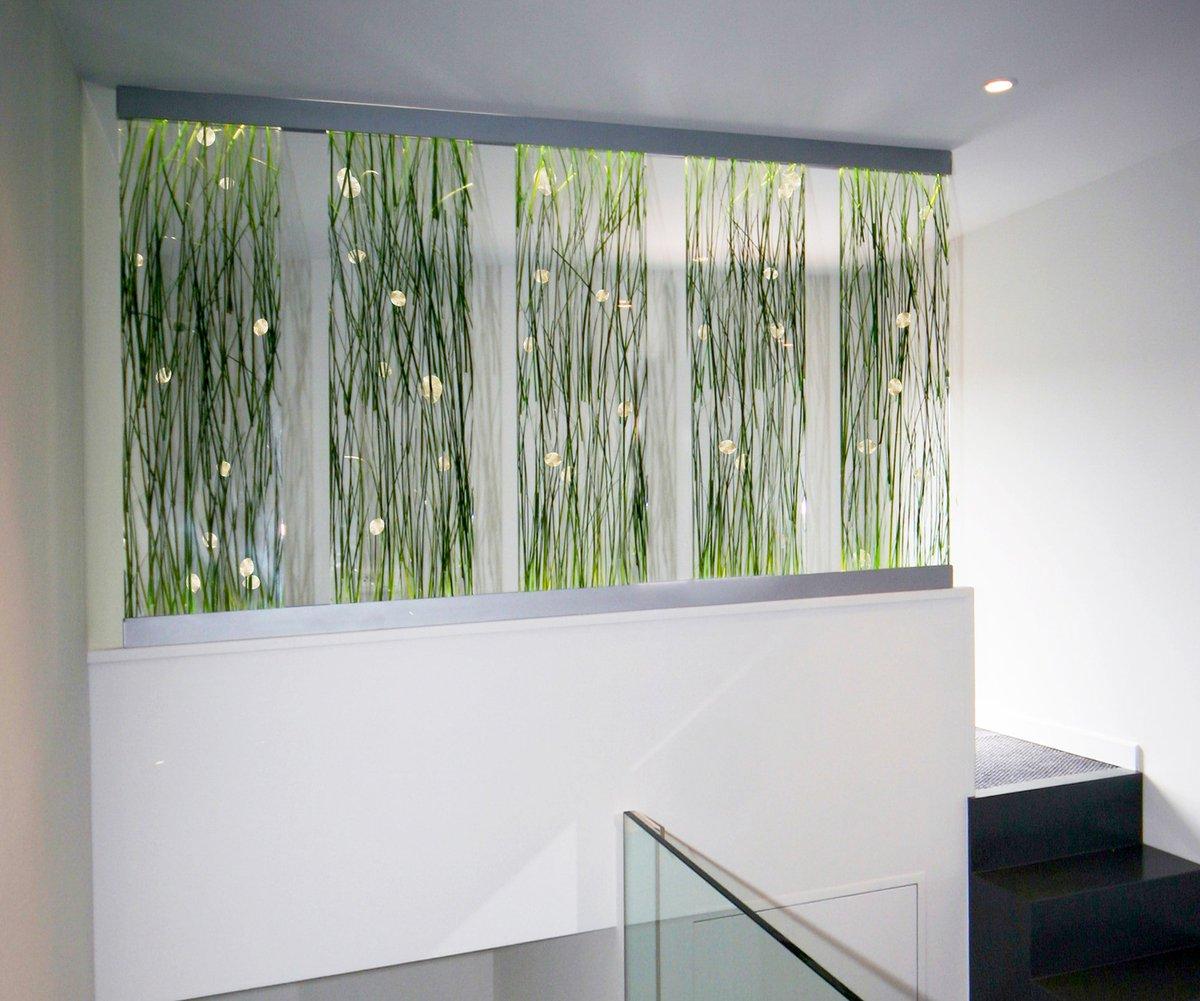 Décoration mural en dacryl modèle herbes zen mis en lumière design designer decor interiordesign interior interiors interiordesigner interiordecor