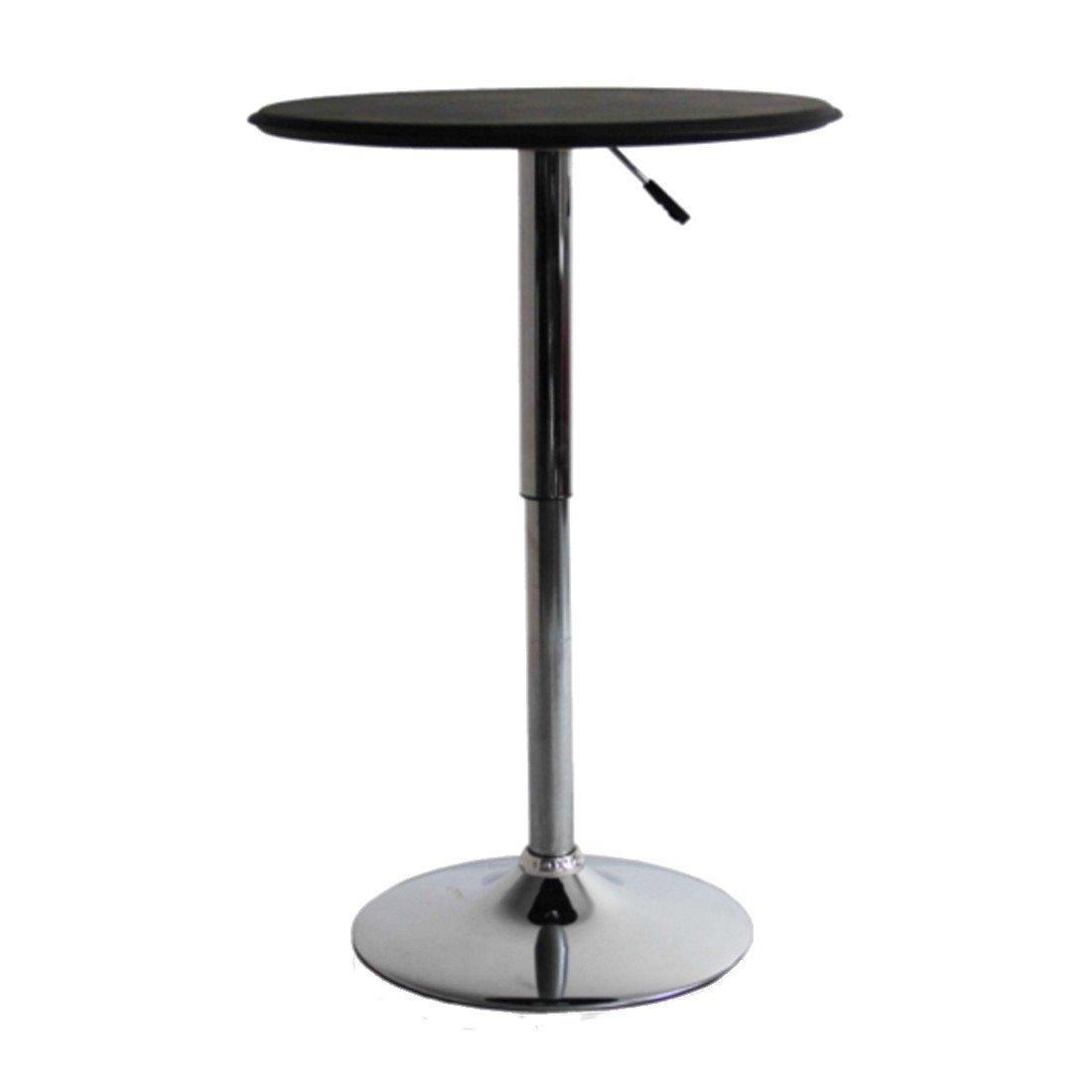 Adjule Bar Table Black 50s