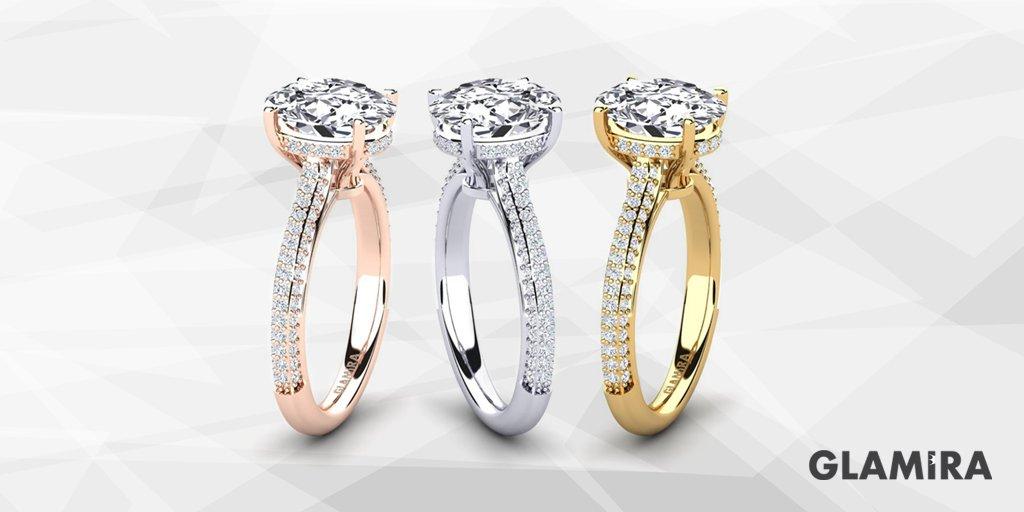 Ring Agrippina with its flawless beauty...  Glamira  GlamiraDiamonds   GlamiraJewelry  ring  diamond  special  swarovski  engagement   engagementring ... 7902ba29cd97