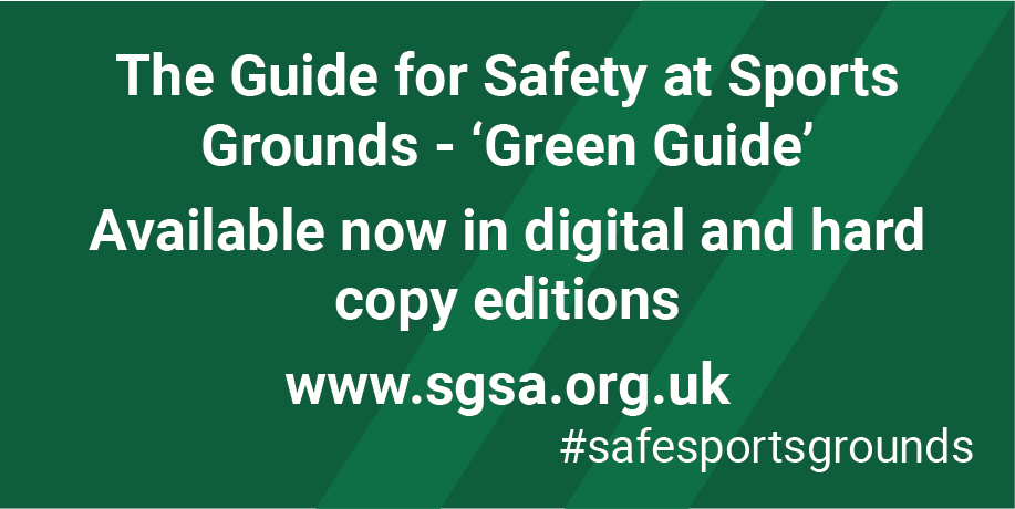 Guide to safety at sports grounds: department of national heritage.