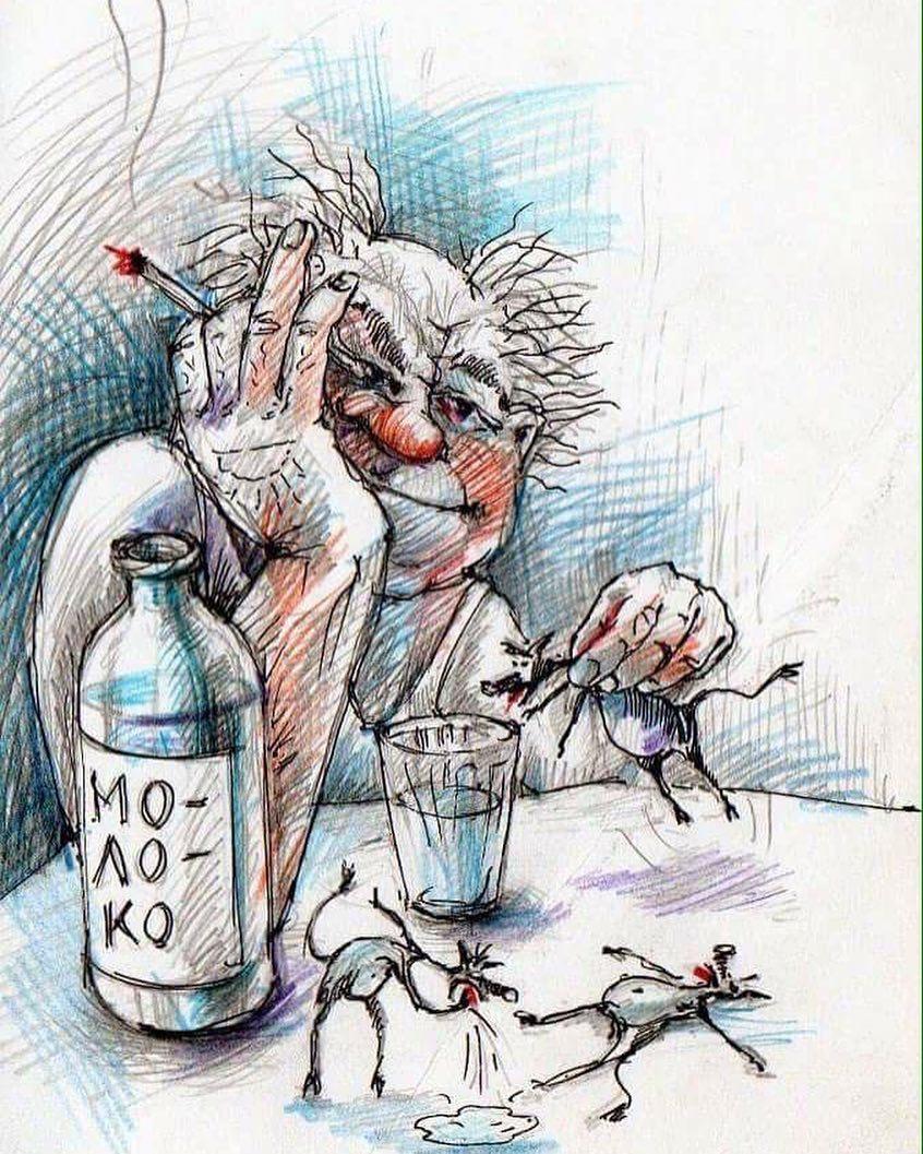 вопрос встаёт черти в бутылке картинки могут