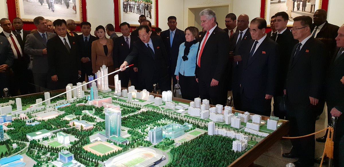 Culmina visita de Díaz-Canel a Corea Democrática