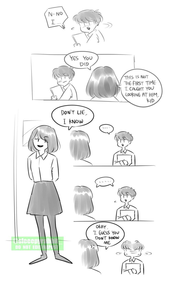 Thread By Sleeepyrabbit Chibi Comic Thread Taekook High School Au It S Not Gonna Be That Long Ig More Like Doodles So It Ll Be Messy Sometimes D Taekook