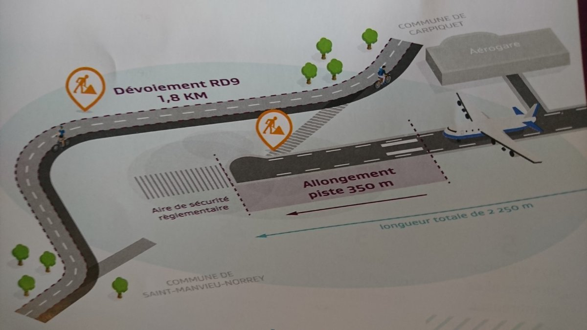 Aéroport de Caen-Carpiquet - Page 13 DrP1N0jXcAAa9G0
