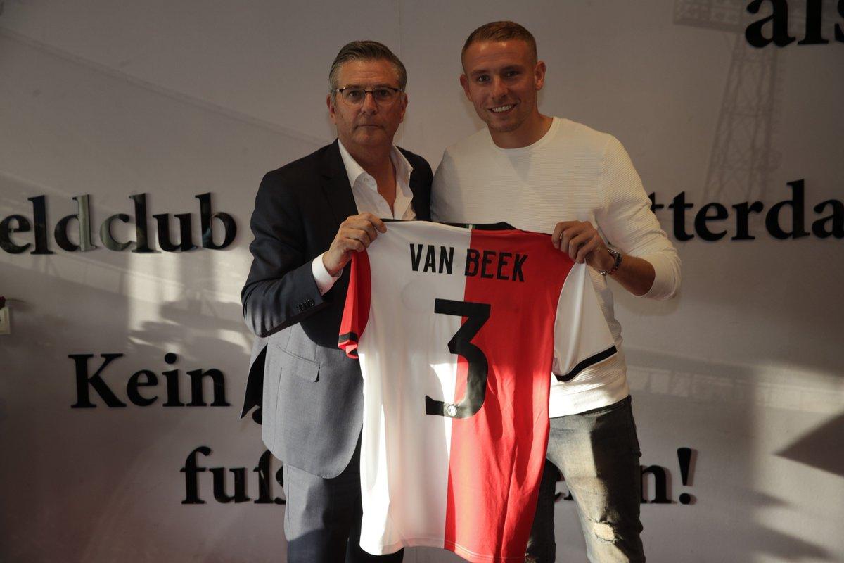 Van Beek Verlengt Aflopend Contract Bij Feyenoord Met Twee Jaar Nu
