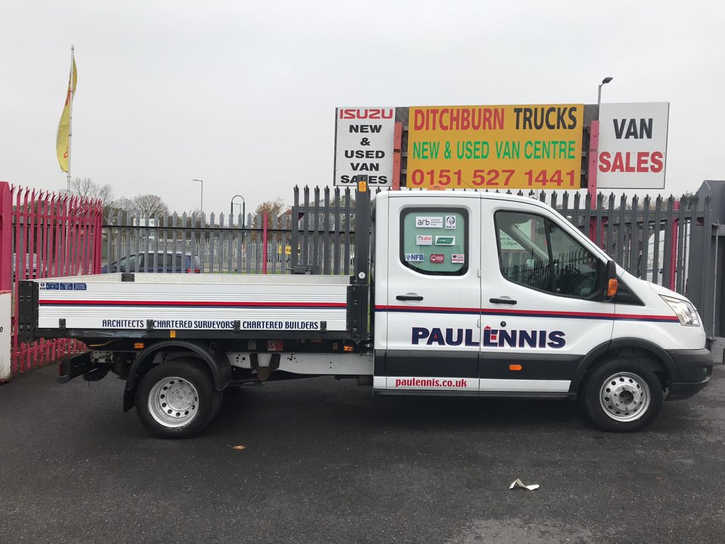 test Twitter Media - Taken delivery of a new van from Ditchburn Trucks today. As always- Many thanks to Jason and the team for looking after us. https://t.co/FUG7E8QA8E