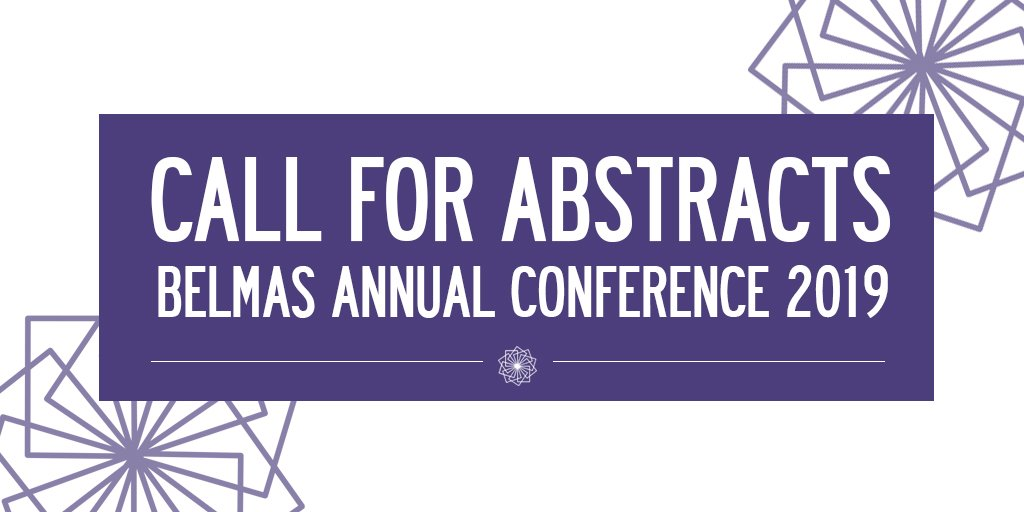 Don't forget! The #BELMAS2019 Call for Abstracts is now open. Read the call here: https://mailchi.mp/belmas/call-for-abstracts-belmas-annual-conference-2648797…