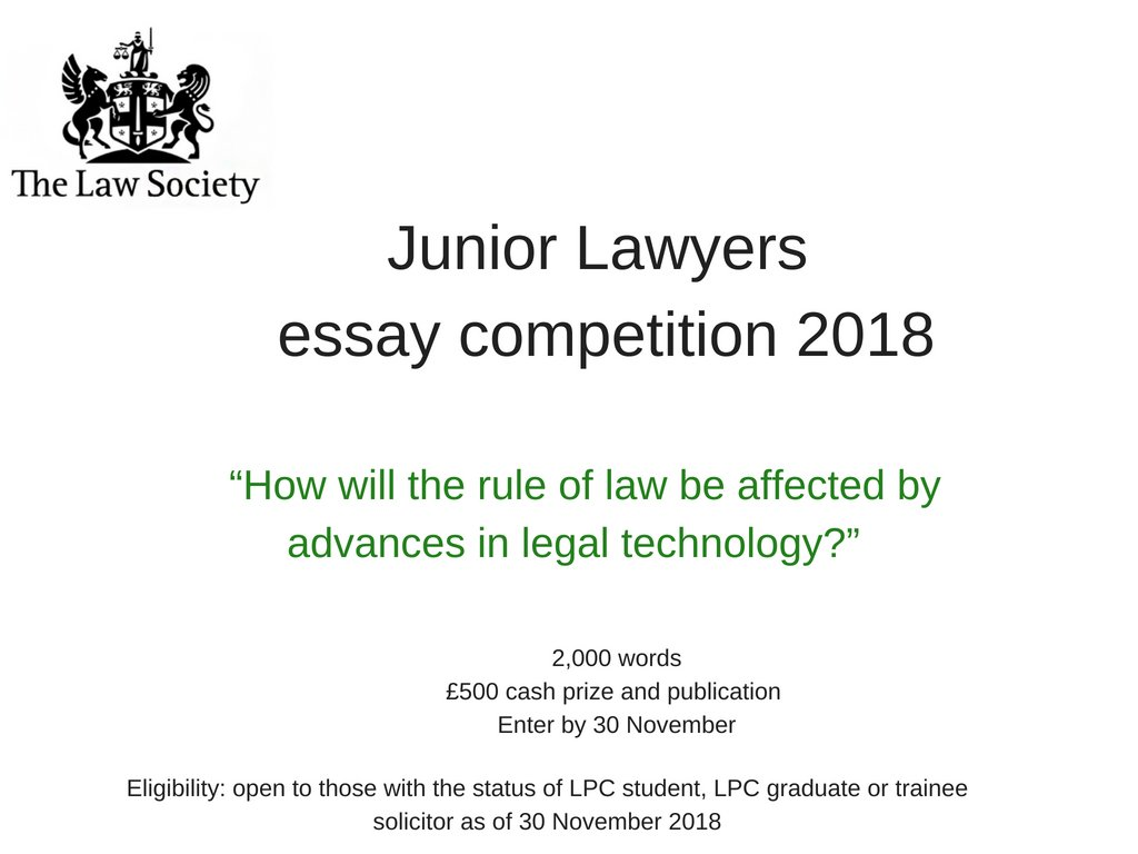 jld essay competition 2017