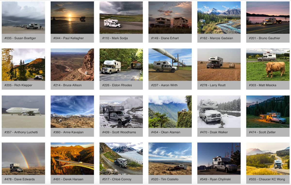 Please help us vote to make sure a Capri Camper is featured in the final 2019 calendar. When voting, our two pictures are #520 and #549. Voting ends Wednesday, November 7.  #capricamper#truckcamper