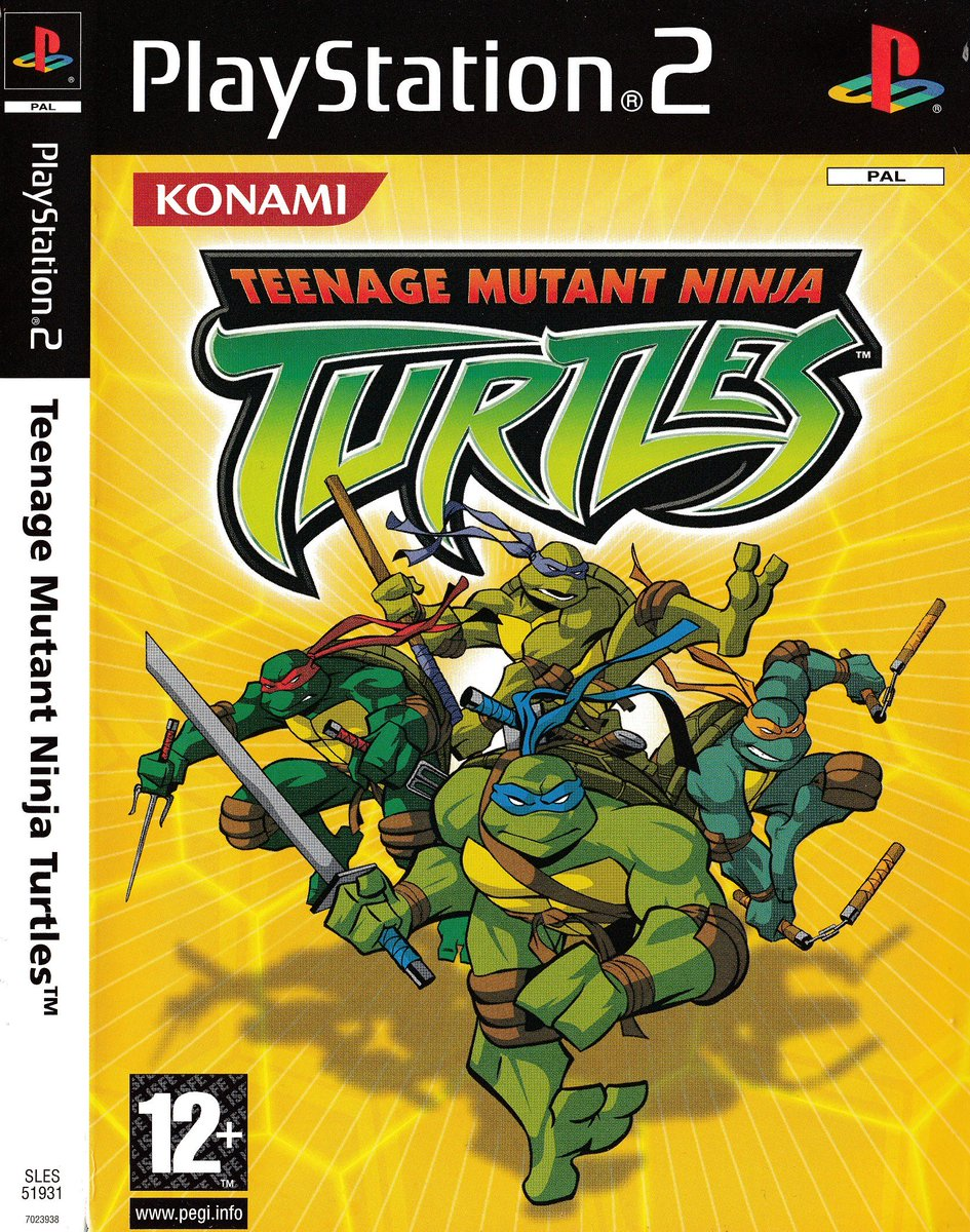 Retro Game Ghouls On Twitter Manual Monday Teenage Mutant Ninja Turtles Here S 8 Pages From The Uk Playstation 2 Manual For The 2003 Action Beat Em Up Game Based On