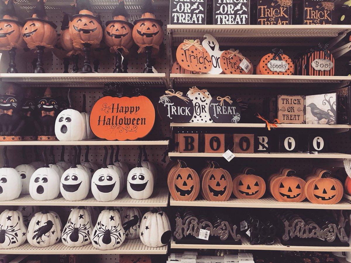 "Hobby Lobby Life on Twitter ""Remaining Halloween decor is"