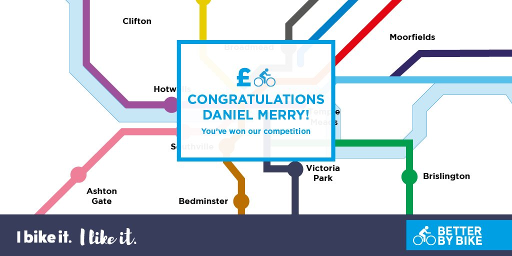 test Twitter Media - Massive congratulations to our 'I Bike It, I Like It' competition winner, Daniel Merry! Your £250 @bikeuk voucher is on it's way! Thank you to everyone else who entered 🚲 https://t.co/LGd480BS5e