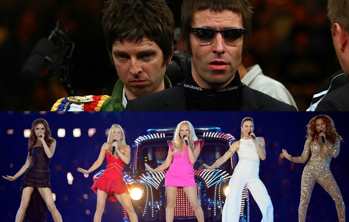 Which reunion would you rather buy tickets for? RT - Oasis ❤️ - Spice Girls